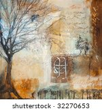 Mixed Media Painting With...