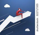 rodeo. business illustration.... | Shutterstock . vector #322717355