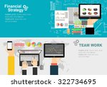 flat design illustration...   Shutterstock .eps vector #322734695