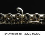 Close Up Details Of Clarinet....