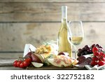 still life with various types... | Shutterstock . vector #322752182