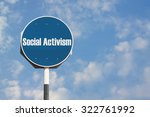Small photo of Social Activism Sign