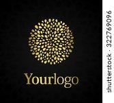 luxury logo. elegant symbol... | Shutterstock .eps vector #322769096