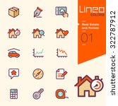 lineo colors   real estate and... | Shutterstock .eps vector #322787912