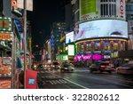new york  usa on 2nd sept 2015  ... | Shutterstock . vector #322802612