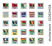 set of vector stamps with...   Shutterstock .eps vector #322824428