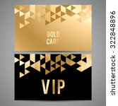 vector vip premium invitation... | Shutterstock .eps vector #322848896