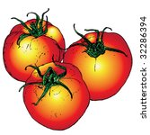 tomato | Shutterstock .eps vector #32286394