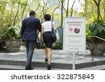 new york  new york  usa  ... | Shutterstock . vector #322875845
