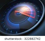 Speedometer Scoring High Speed...