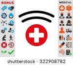 medical source vector icon.... | Shutterstock .eps vector #322908782