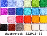 Palette Of Colors Beads In The...