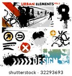 urban design elements   2 | Shutterstock .eps vector #32293693
