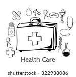 health illustration. design... | Shutterstock .eps vector #322938086