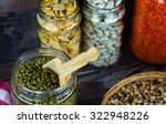 legumes delicious and healthy...   Shutterstock . vector #322948226