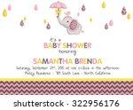 Girl Baby Shower Elephant...