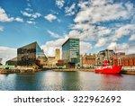 Buildings In Liverpool  Englan...