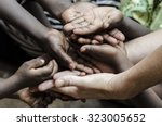 African Hands Cupped  World...