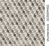 vector seamless pattern... | Shutterstock .eps vector #323009402