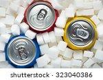 unhealthy food concept   sugar... | Shutterstock . vector #323040386