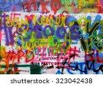 prague  czech republic  ... | Shutterstock . vector #323042438
