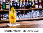 Fresh Cocktail With Orange ...