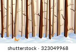 abstract vector horizontal... | Shutterstock .eps vector #323049968