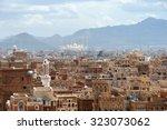 old city of sanaa the capital... | Shutterstock . vector #323073062
