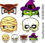 Spooky Mask Halloween Set