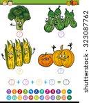 cartoon illustration of... | Shutterstock . vector #323087762