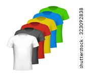 color shirts | Shutterstock .eps vector #323092838