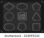 vector illustration chalk... | Shutterstock .eps vector #323095232