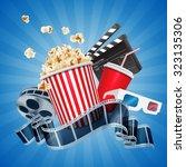 cinema | Shutterstock .eps vector #323135306