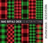 Christmas Buffalo Check Plaid...