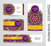 Business Cards With Mandala....