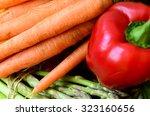 pepper  carrots  asparagus ...