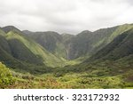 Halawa Valley Falls  Molokai ...
