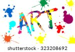 illustrator colorful texture... | Shutterstock .eps vector #323208692