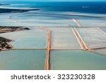 Saline Aerial View In Shark Ba...