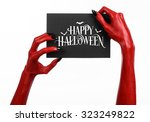 Postcard And Happy Halloween...