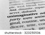 Small photo of Unimaginative