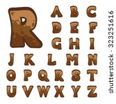 brown stone game alphabet