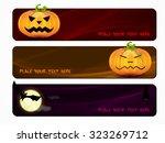 halloween vector illustration... | Shutterstock .eps vector #323269712