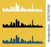 gold coast  queensland ...   Shutterstock .eps vector #323274518