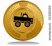 Monster Truck Coin