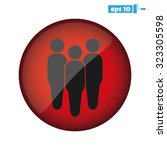 three people | Shutterstock .eps vector #323305598
