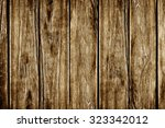 the brown wood texture with... | Shutterstock . vector #323342012