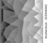grunge halftone dots vector... | Shutterstock .eps vector #323346062