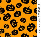 vector seamless pattern with... | Shutterstock .eps vector #323384912