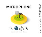 microphone icon  vector symbol...